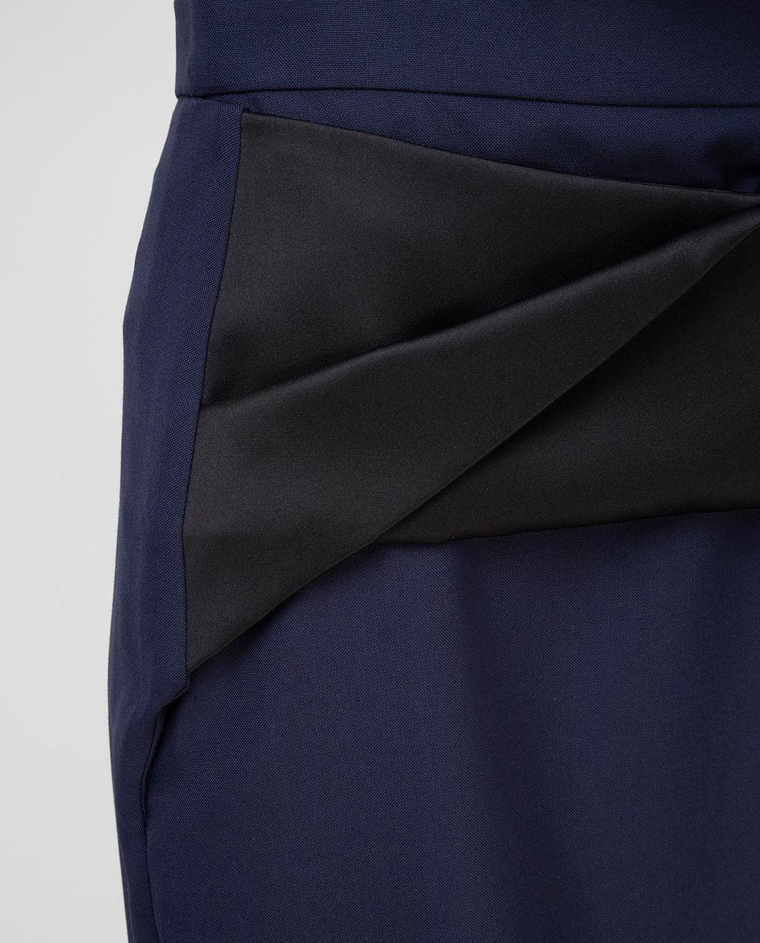 Balenciaga Темно-синяя юбка 373614 изображение 5