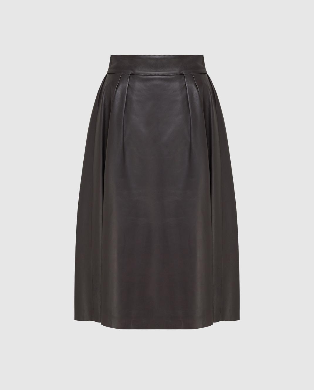 Dolce&Gabbana Коричневая юбка изображение 1