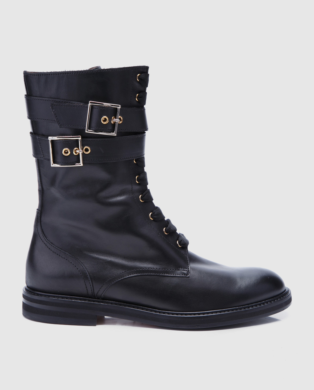 Doucal's Черные кожаные ботинки DD8260SOFIUF063