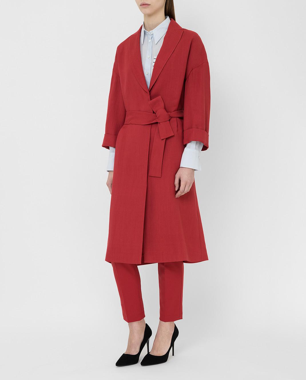 Brunello Cucinelli Красное пальто MH1269398 изображение 3
