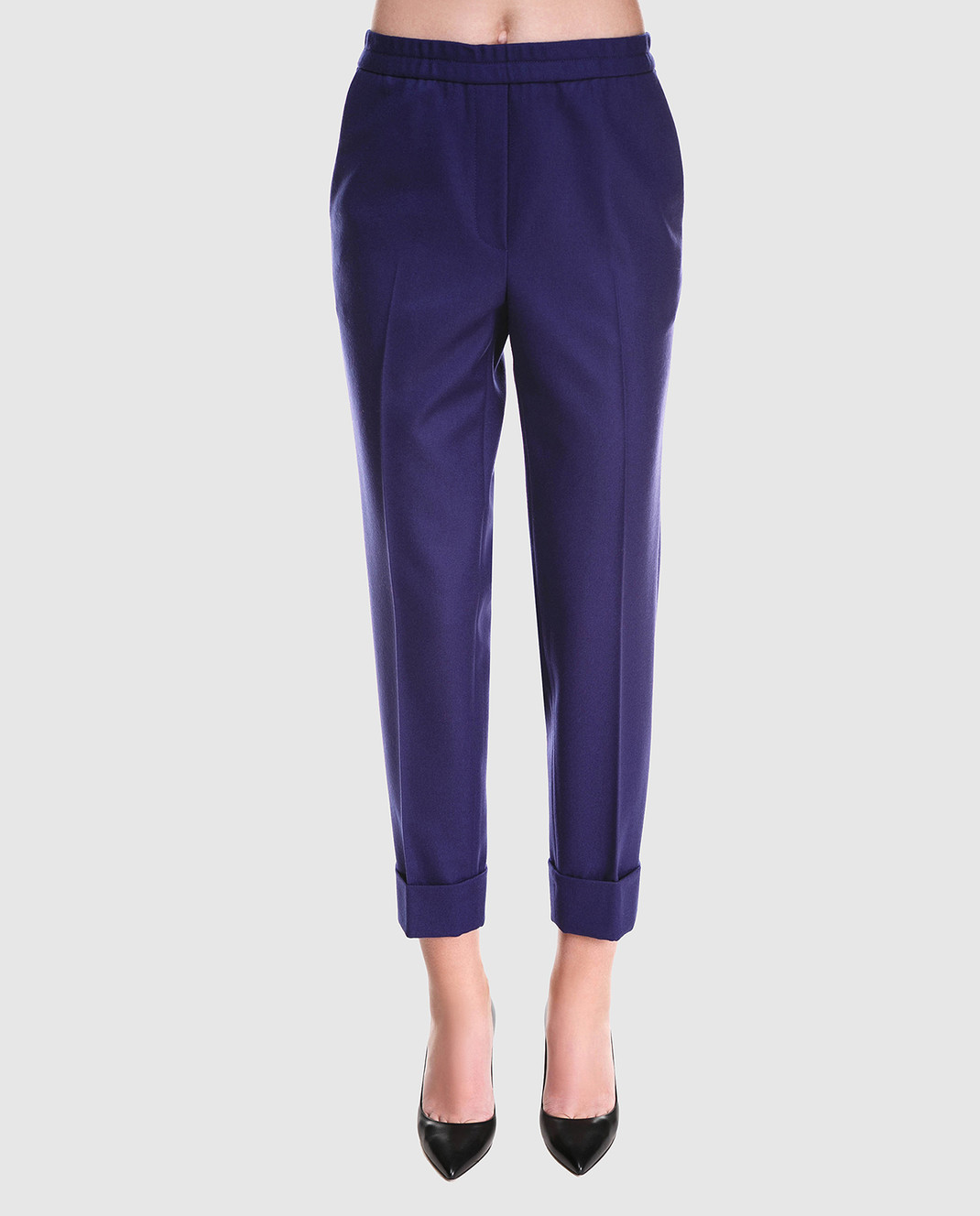 Bottega Veneta Синие брюки 513214 изображение 3