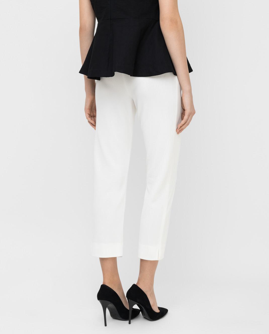 Armani Белые брюки 3XAP53 изображение 4