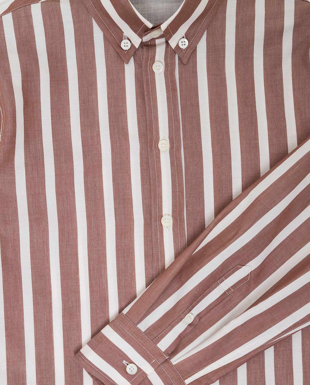 Brunello Cucinelli Детская бежевая рубашка BN6333008B изображение 3