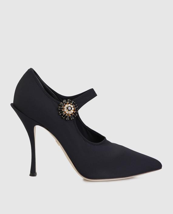 Черные туфли Mary Janes