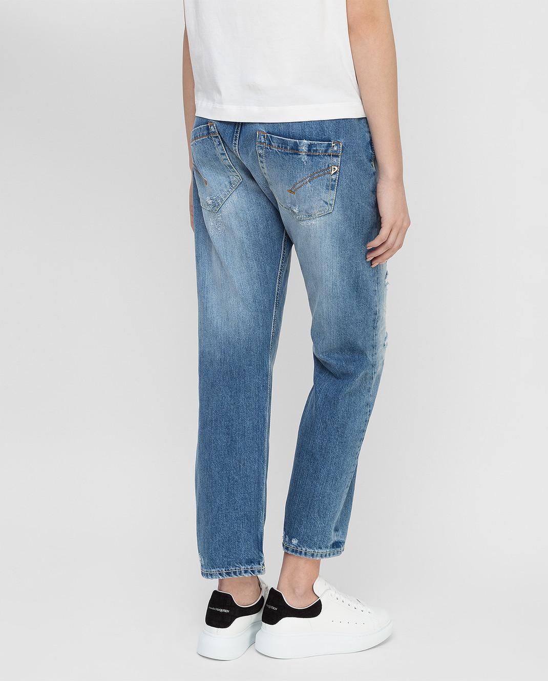 Dondup Голубые джинсы P611 изображение 4