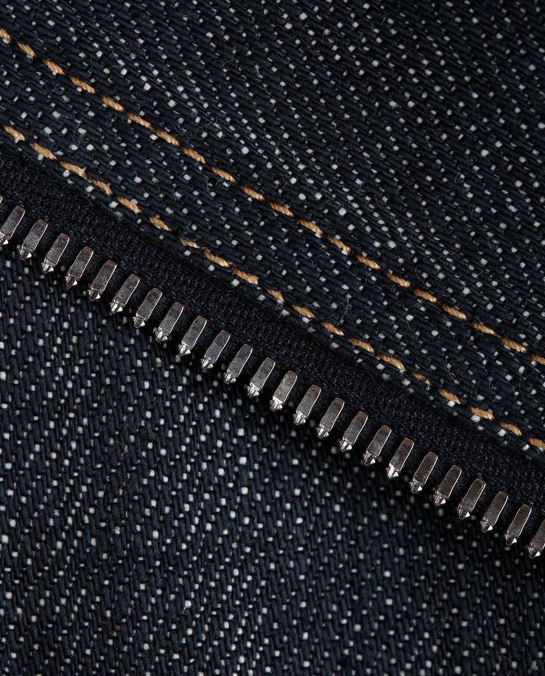 Azzedine Alaia Темно-синяя джинсовая косуха 7S9B005RT172 изображение 5