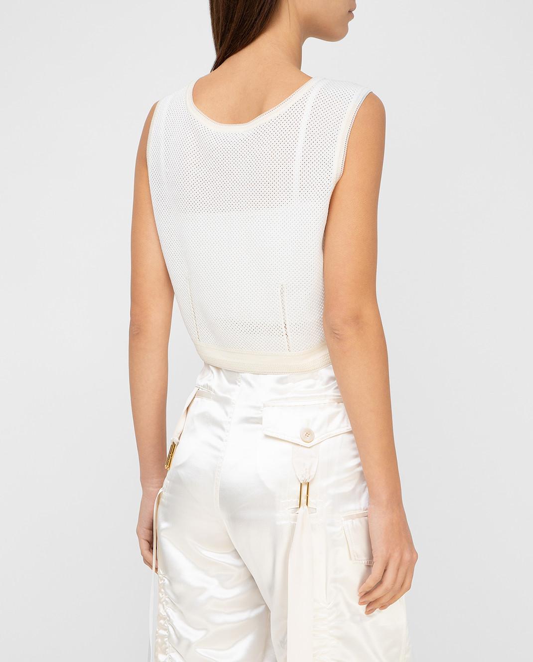 Balenciaga Белый топ 426823 изображение 4