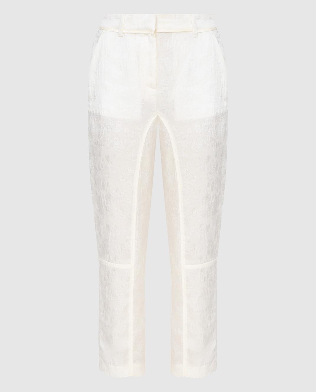Twin Set Светло-бежевые брюки PS72XD
