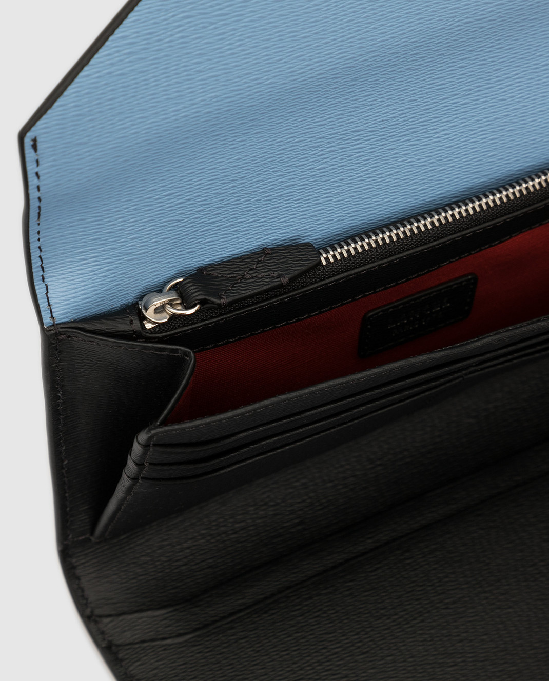 Lancel Голубой кожаный кошелек A07676 изображение 3