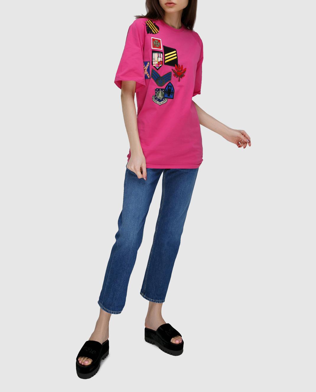 Dondup Синие джинсы P857DF142DO67 изображение 2