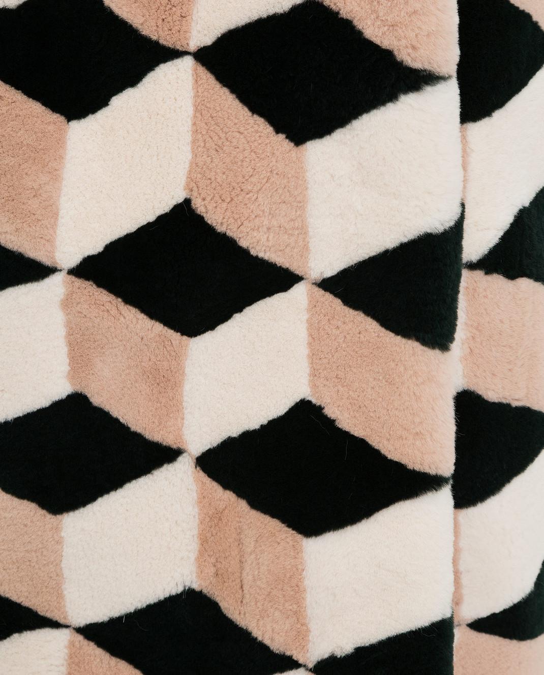 Giuliana Teso Шуба из меха кролика 54AFH741 изображение 5