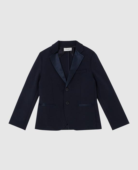 Детский темно-синий пиджак