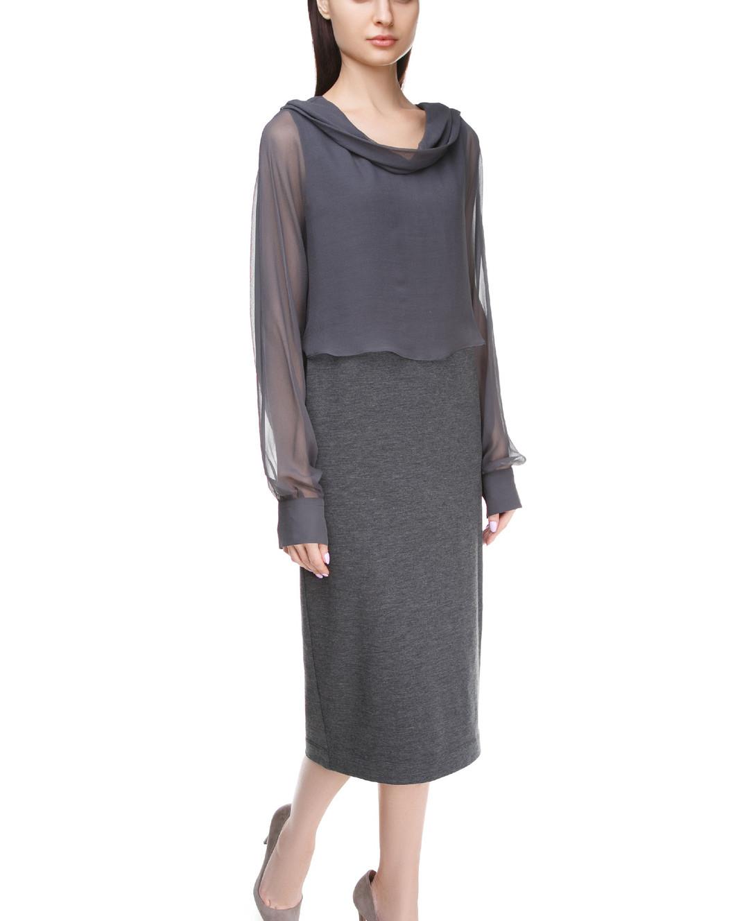 Brunello Cucinelli Платье миди M0R25AF631 изображение 2