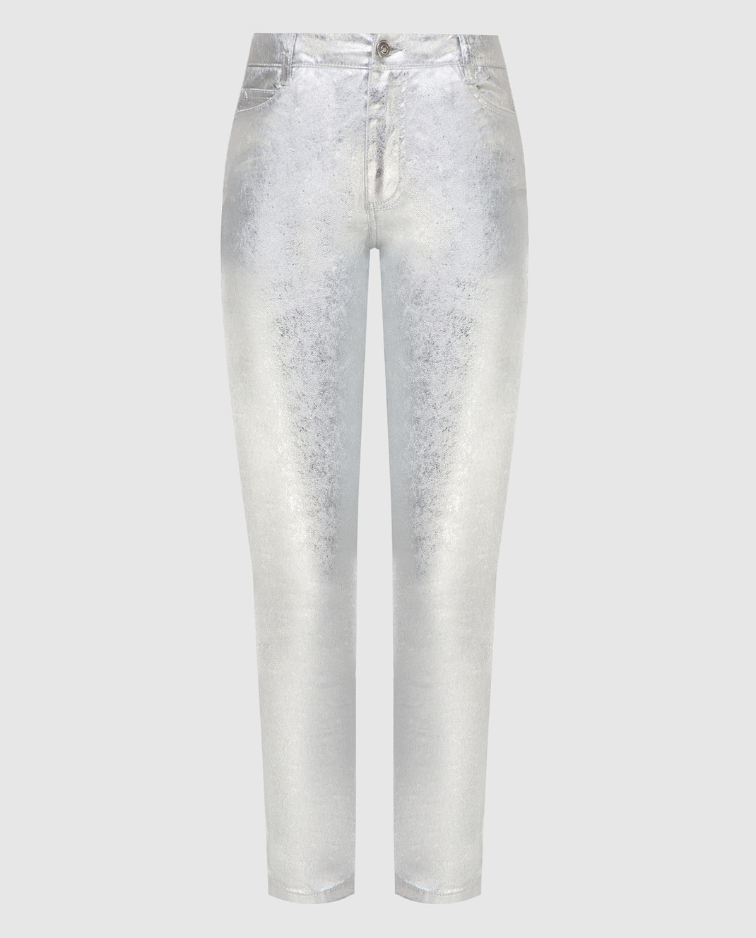 Ermanno Scervino Серебристые джинсы D347P700XFW