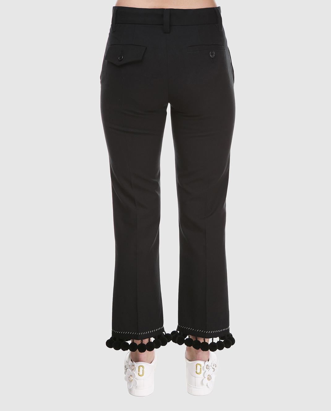 Marc Jacobs Черные брюки M4007136 изображение 4