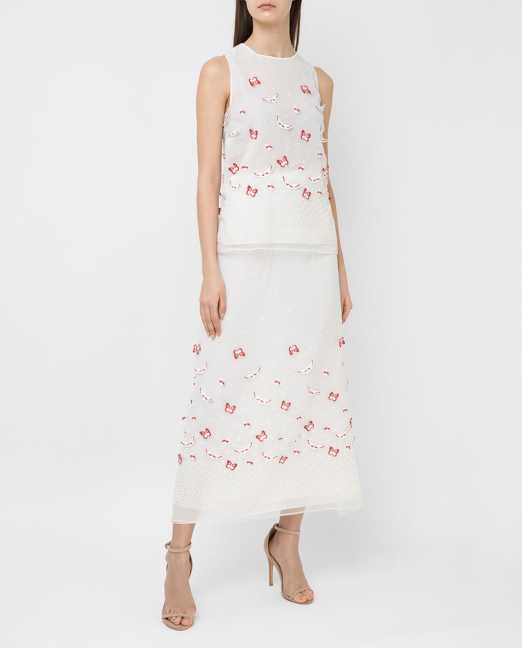 Giamba Белая юбка PG4072 изображение 2