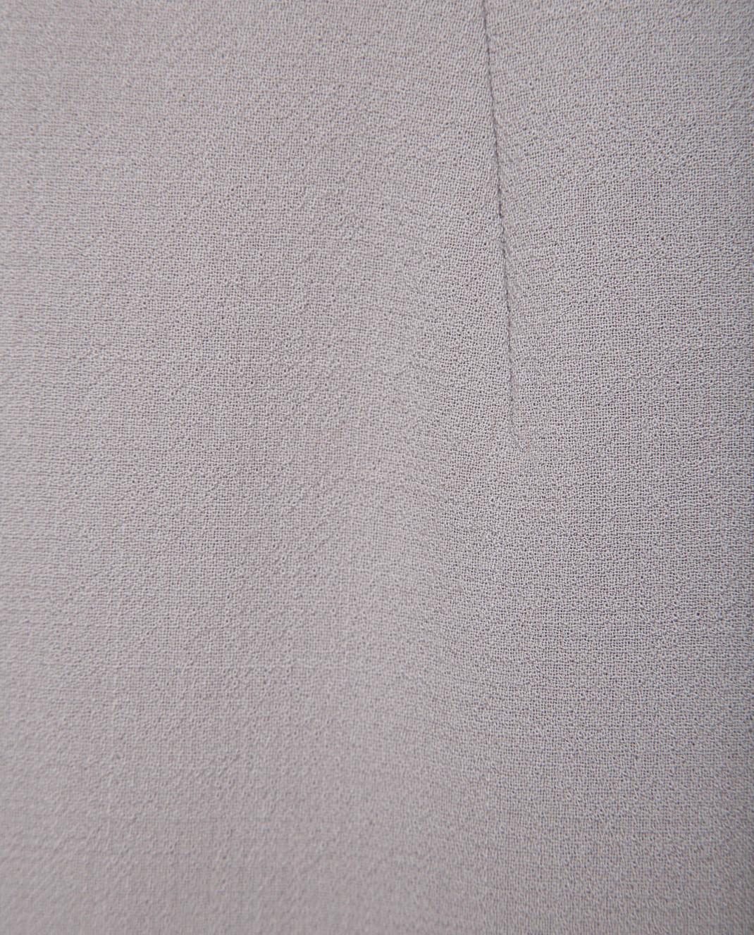 NINA RICCI Серая юбка 18PCJU005WV0230 изображение 5
