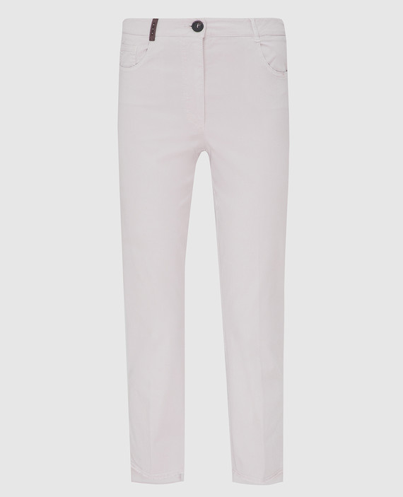 Светло-серые брюки