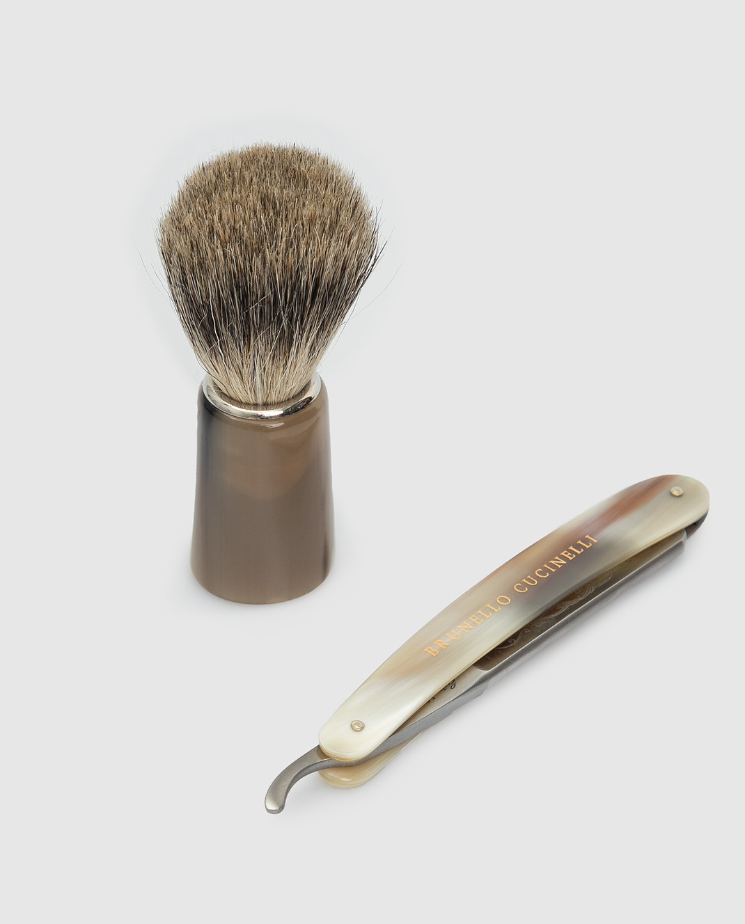 Brunello Cucinelli Мужской набор для бритья изображение 4