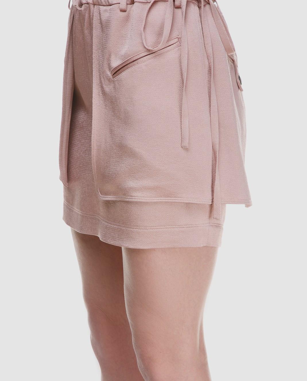 Valentino Розовая юбка PB0RA3K53H3 изображение 3