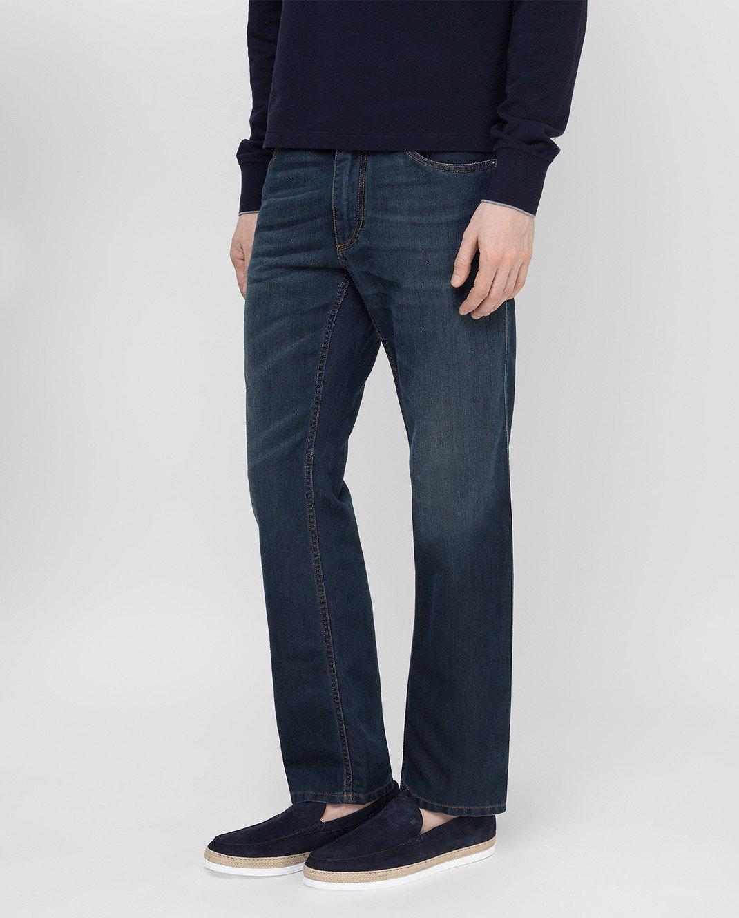 Ferutdin Zakirov Темно-синие джинсы FZA4900JN4000 изображение 3