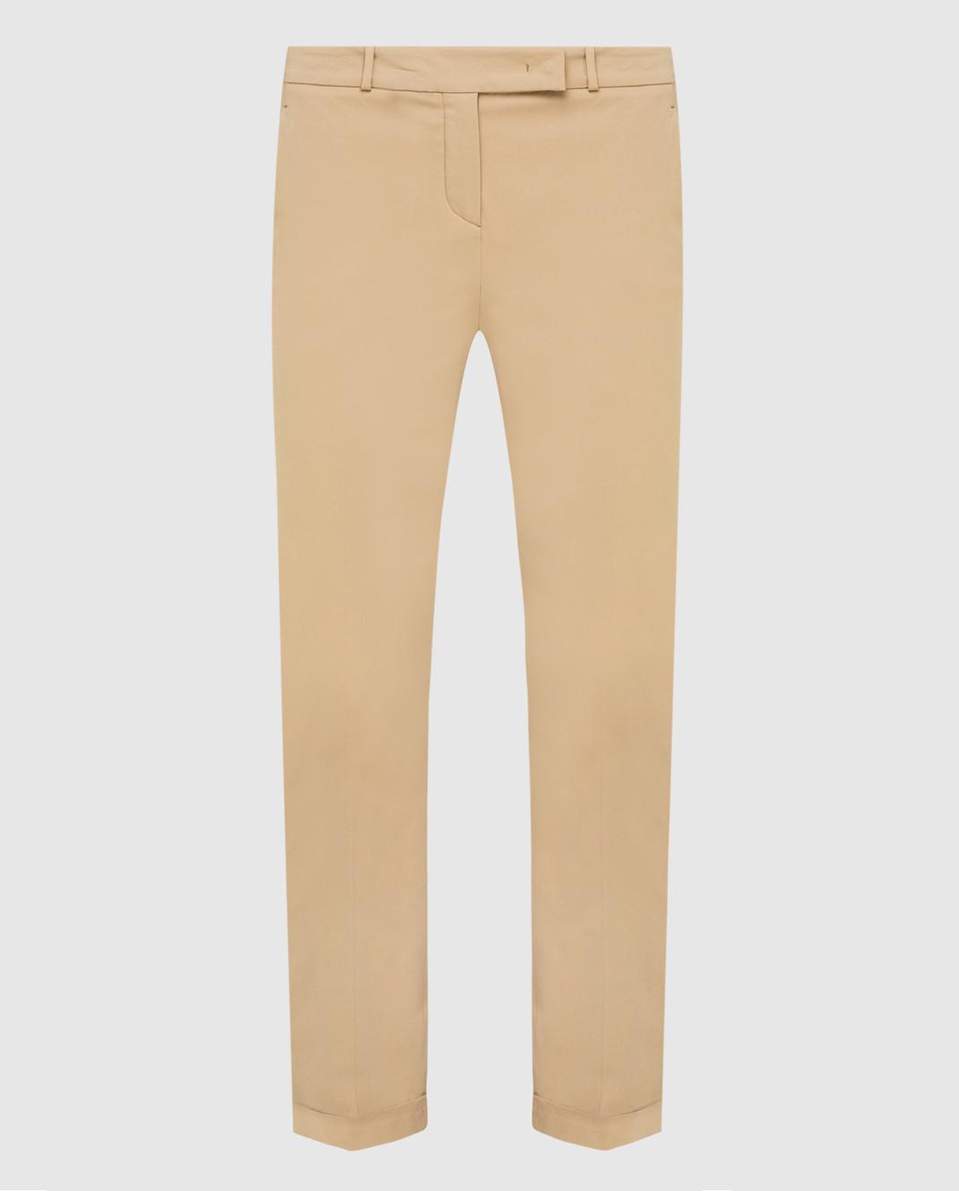 Loro Piana Бежевые брюки F1FAI1447