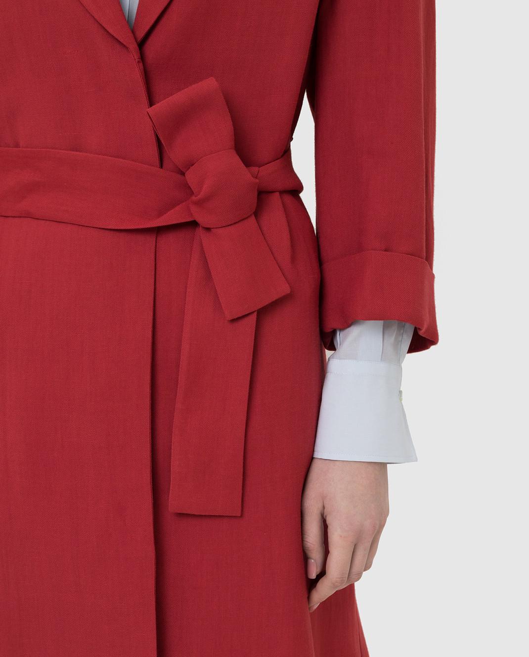 Brunello Cucinelli Красное пальто MH1269398 изображение 5