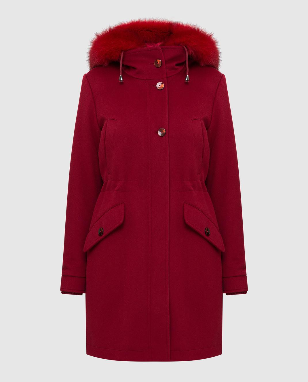 Heresis Красное пальто из шерсти P1290VO