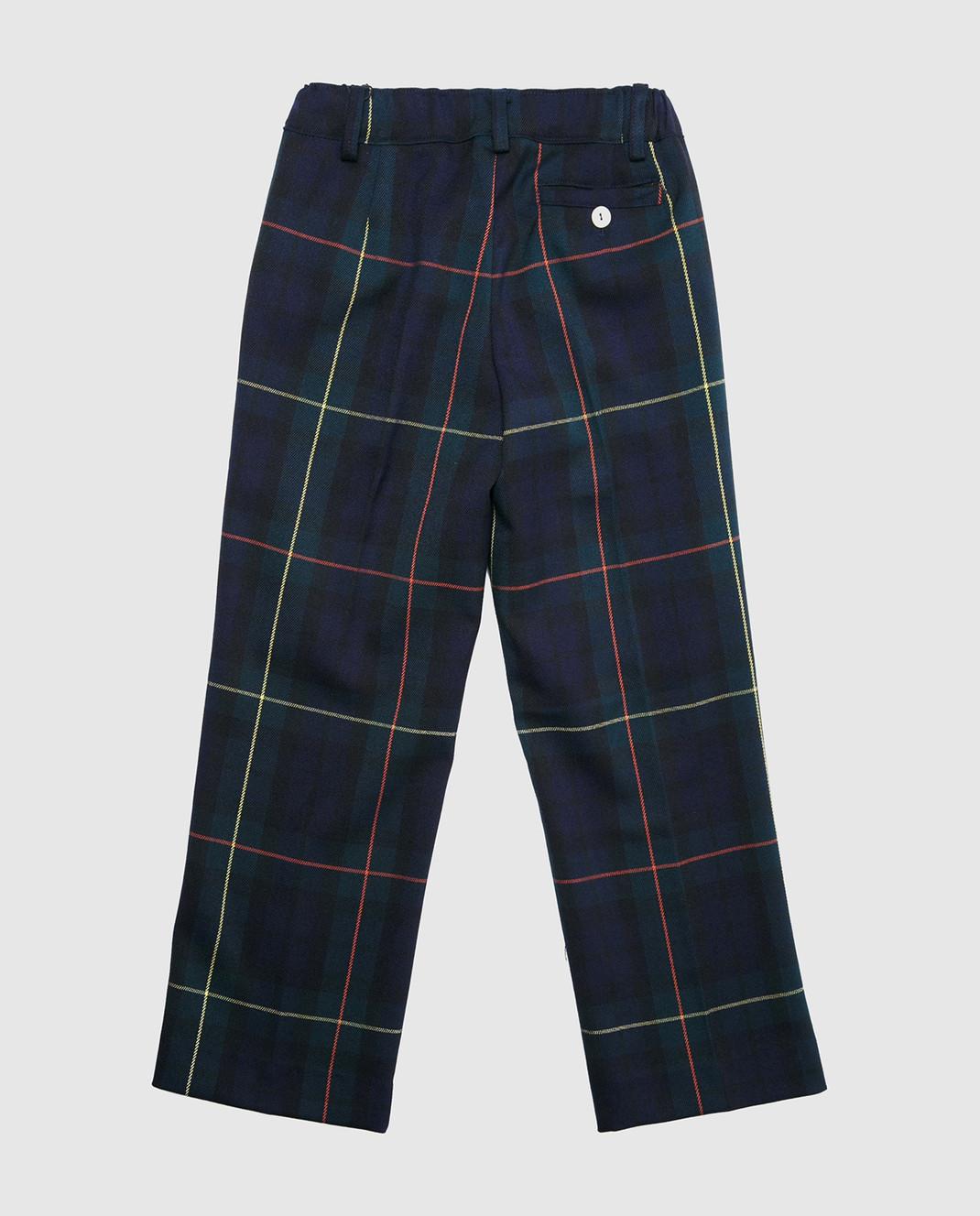 CAF Детские синие брюки 52SP25 изображение 2