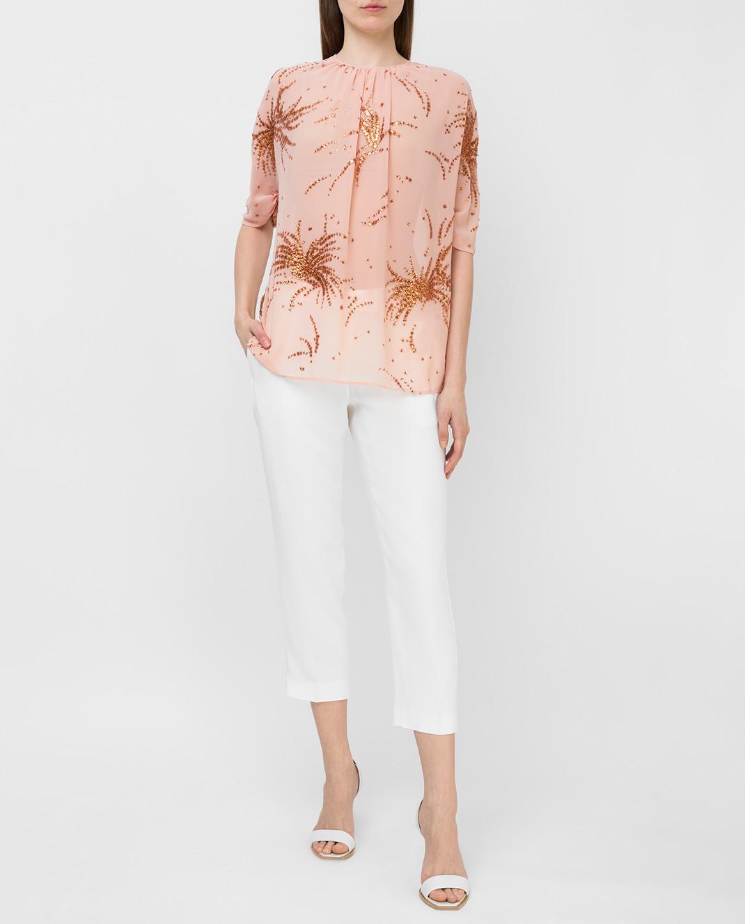 Miu Miu Пудровая блуза MT1296 изображение 2