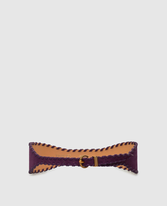 Фиолетовый ремень