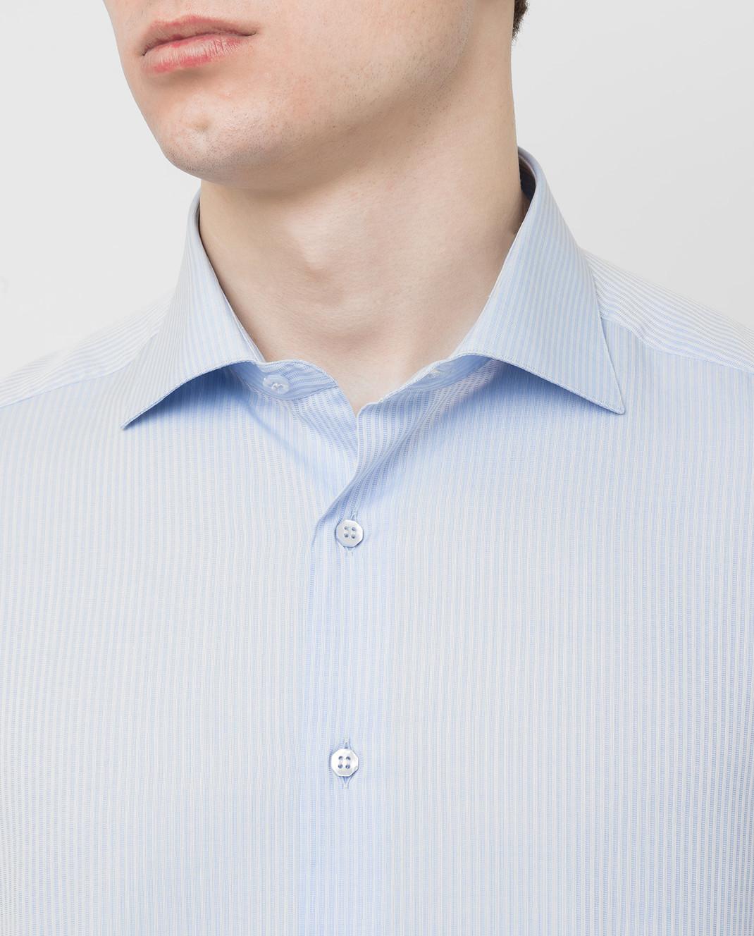Stefano Ricci Голубая рубашка MC000540L1803 изображение 5