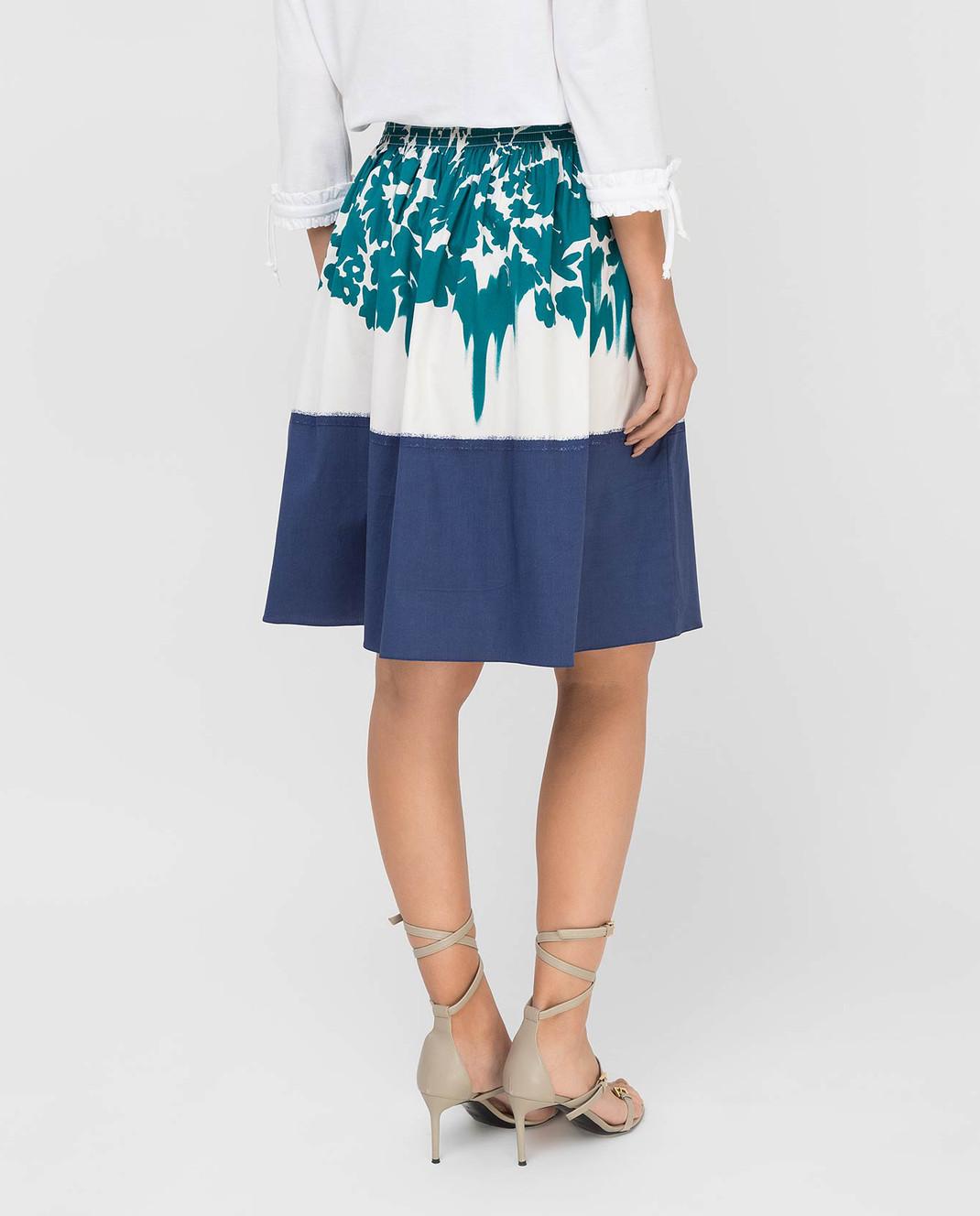 Prada Белая юбка изображение 4