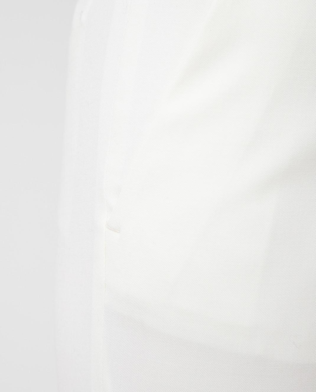 Red Valentino Белые брюки RR3RB0B0WBP изображение 5