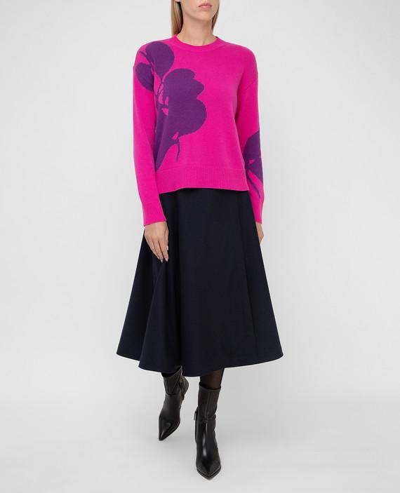 Розовый свитер из шерсти и кашемира hover
