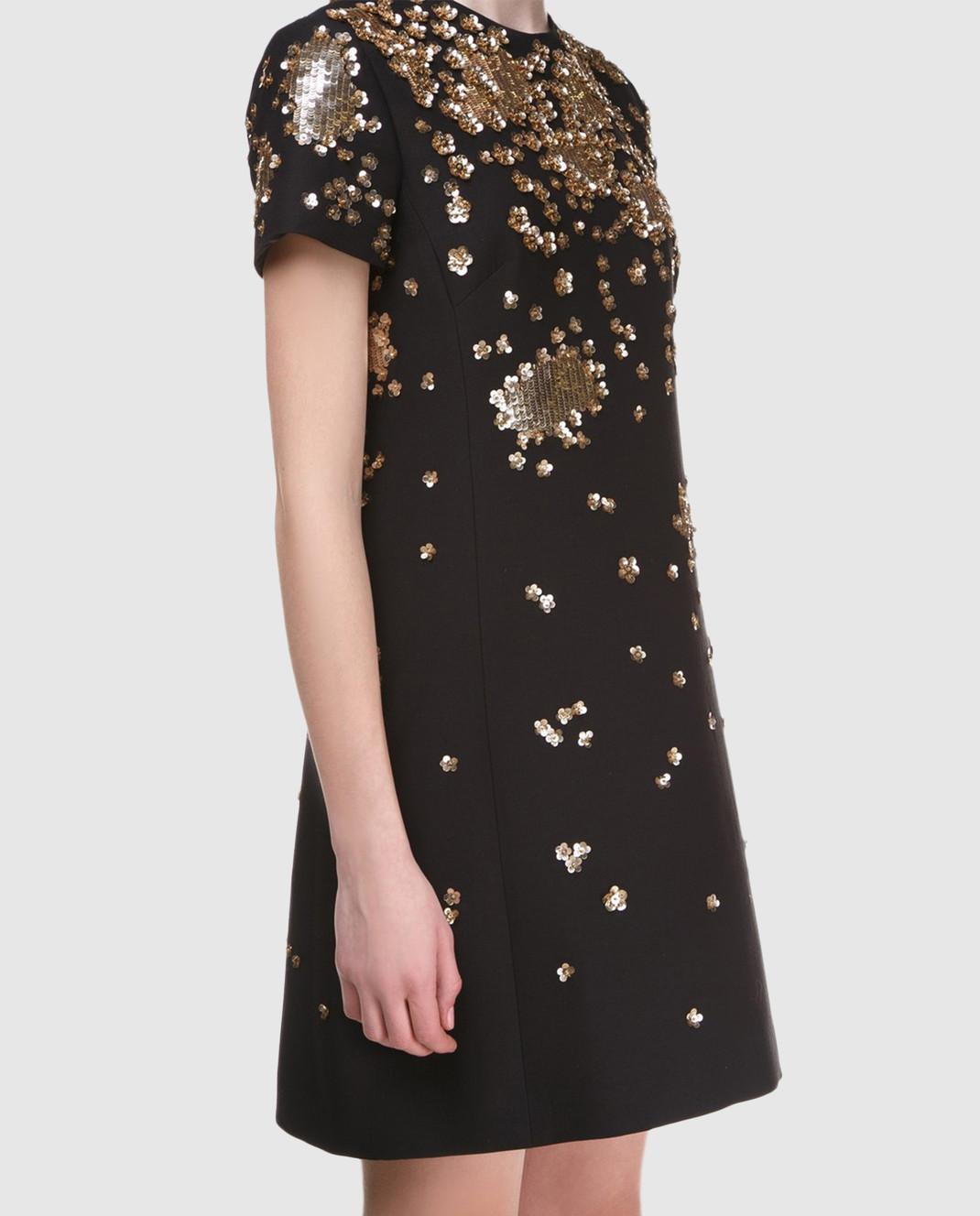 Valentino Черное  платье PB3VAD141CF изображение 3