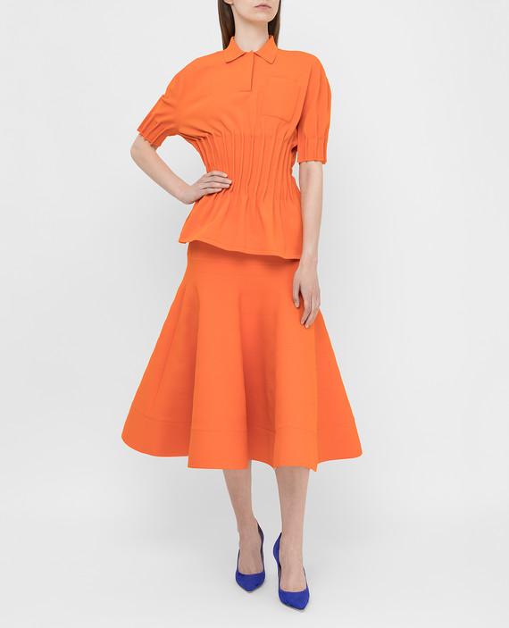 Оранжевое поло hover