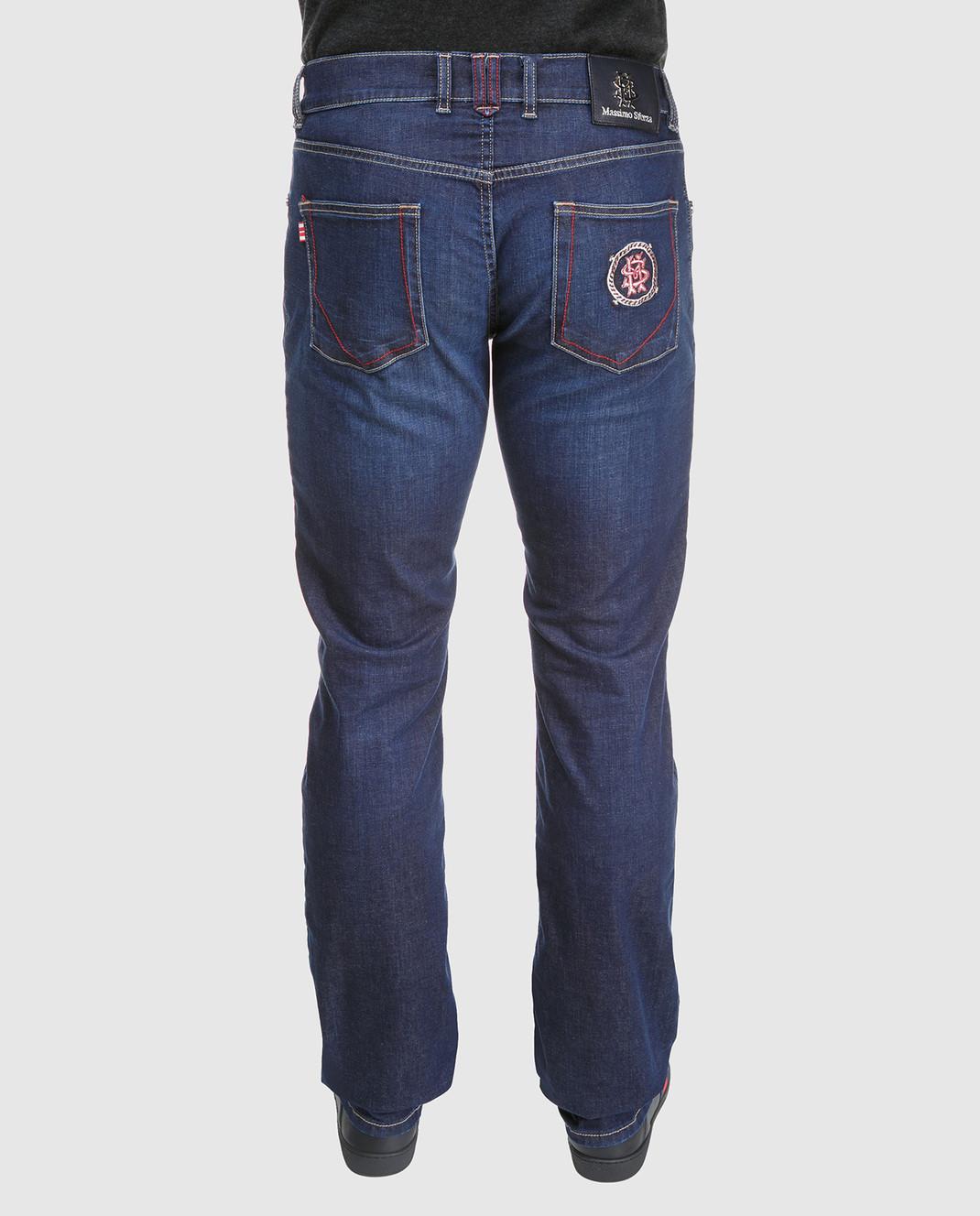 Massimo Sforza Синие джинсы RIVIERAWEBER13 изображение 4