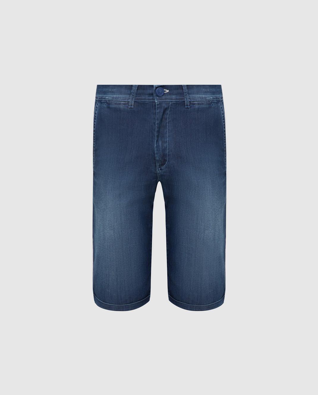Scissor Scriptor Темно-синие шорты изображение 1