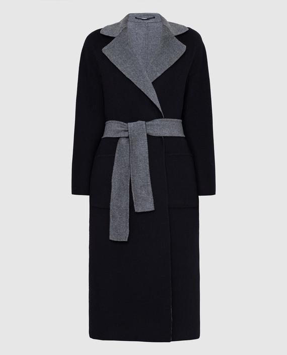 Двустороннее пальто из шерсти