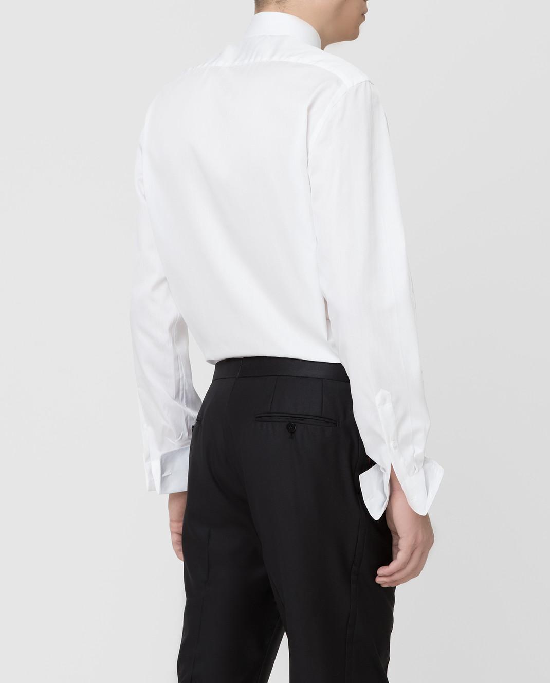 ISAIA Белая рубашка MI18KCKM168 изображение 4