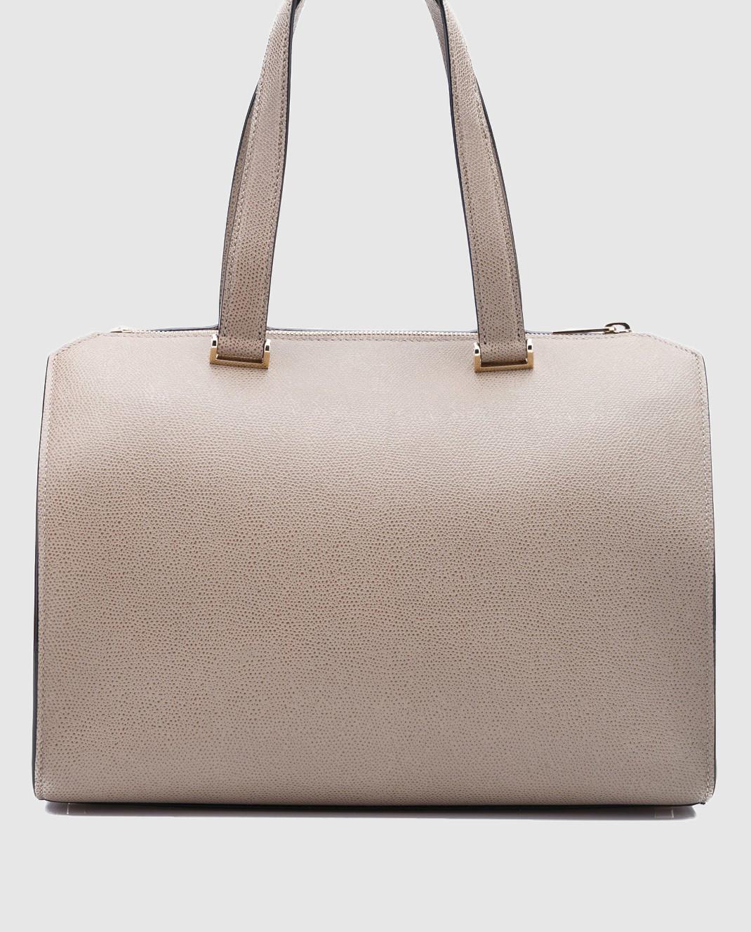 Valextra Бежевая сумка из кожи V5F31 изображение 2