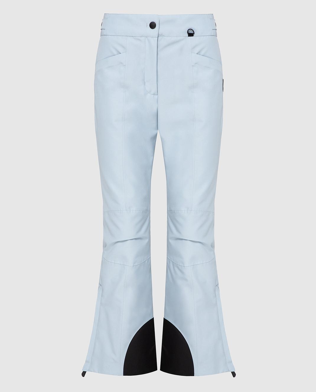 Moncler Grenoble Голубые лыжные брюки 16417