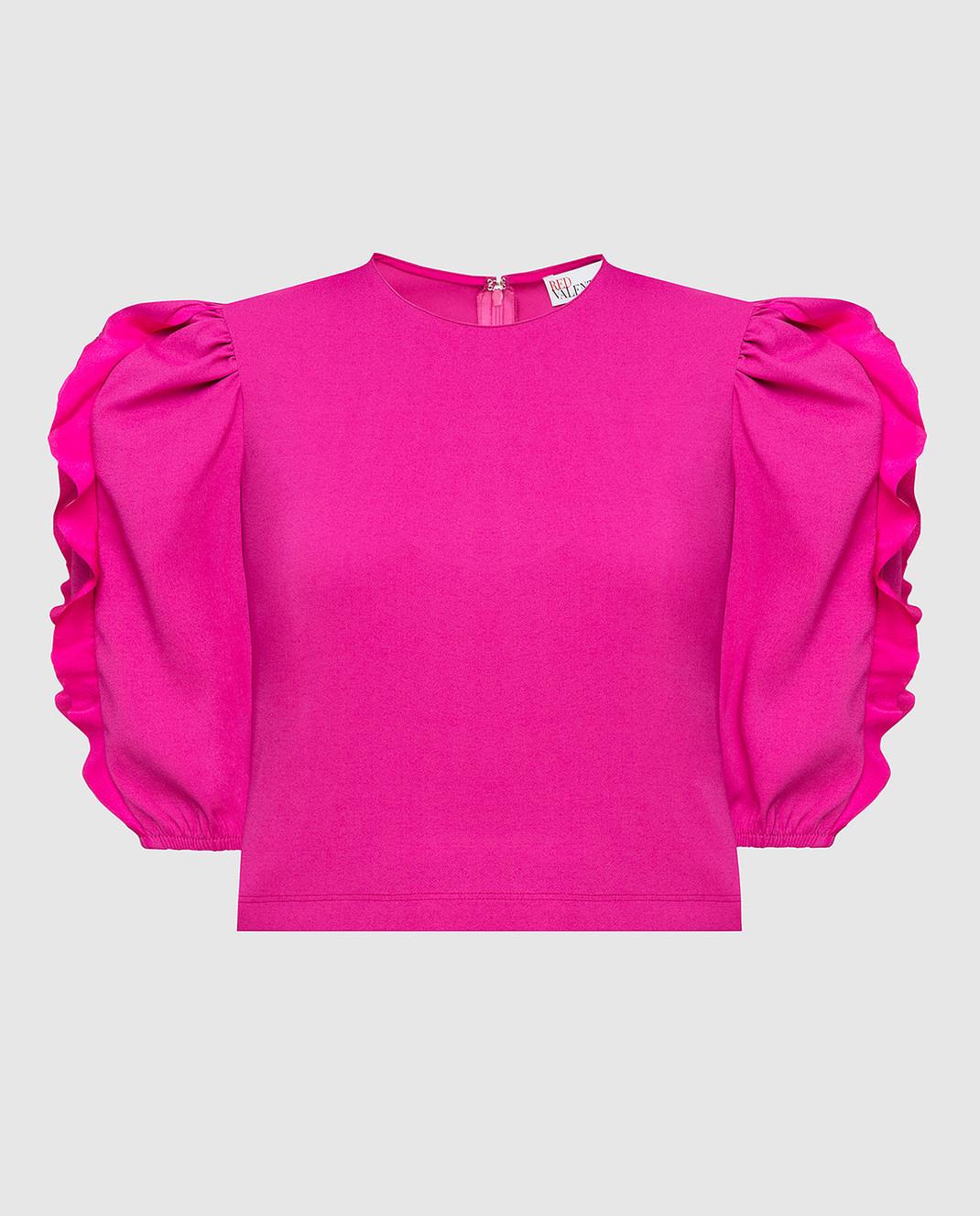 Red Valentino Розовый топ изображение 1