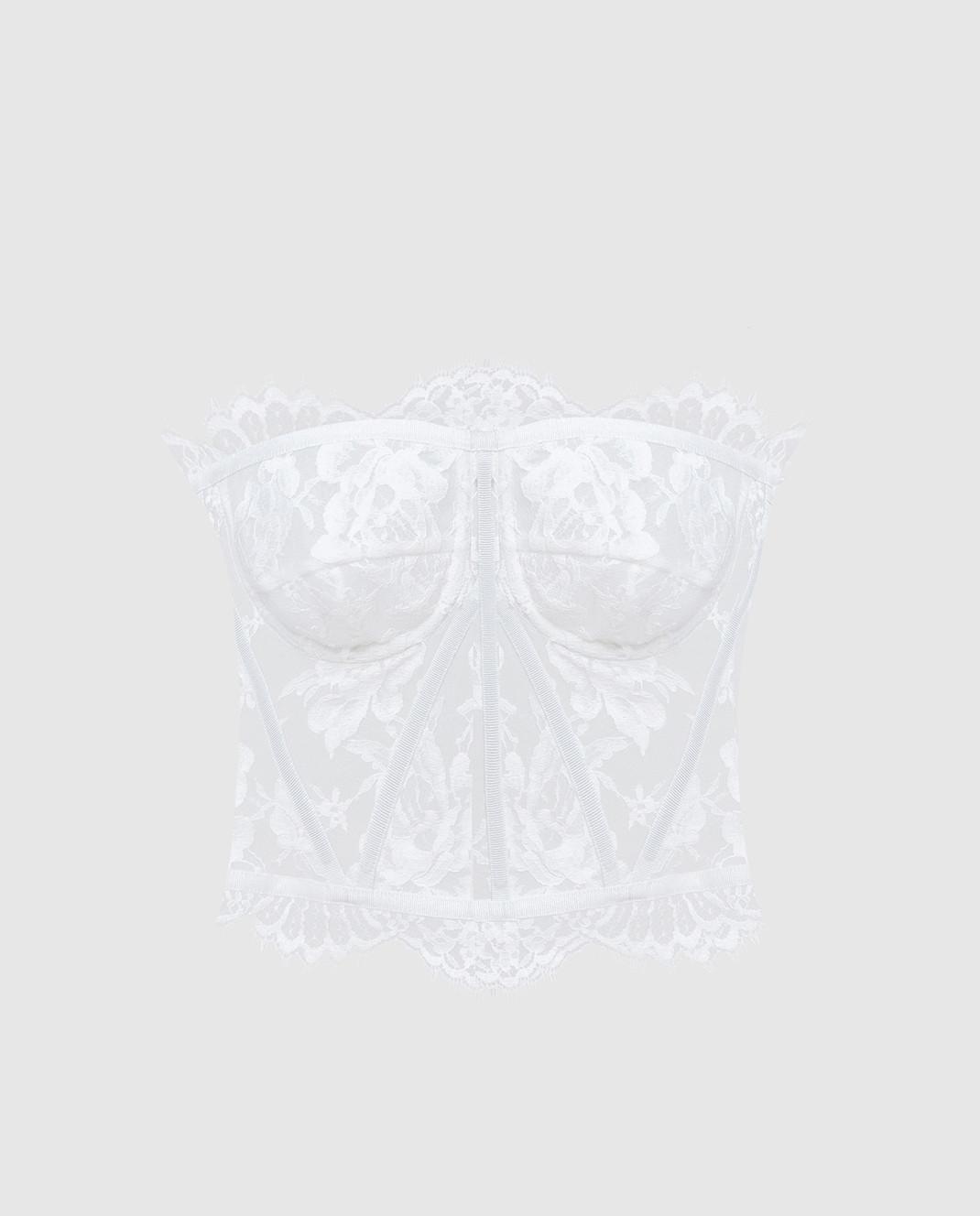 Dolce&Gabbana Белый топ F72X4THLMQJ