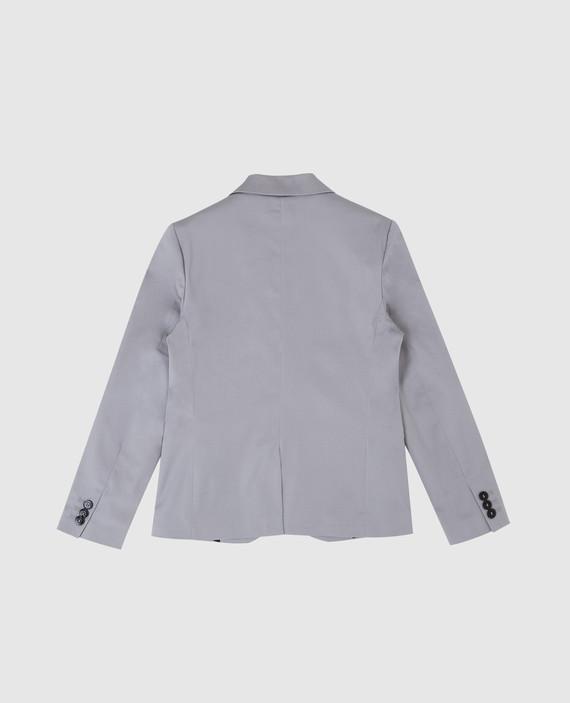 Детский серый пиджак hover