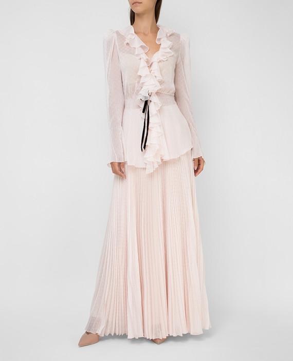 Светло-розовая блуза hover