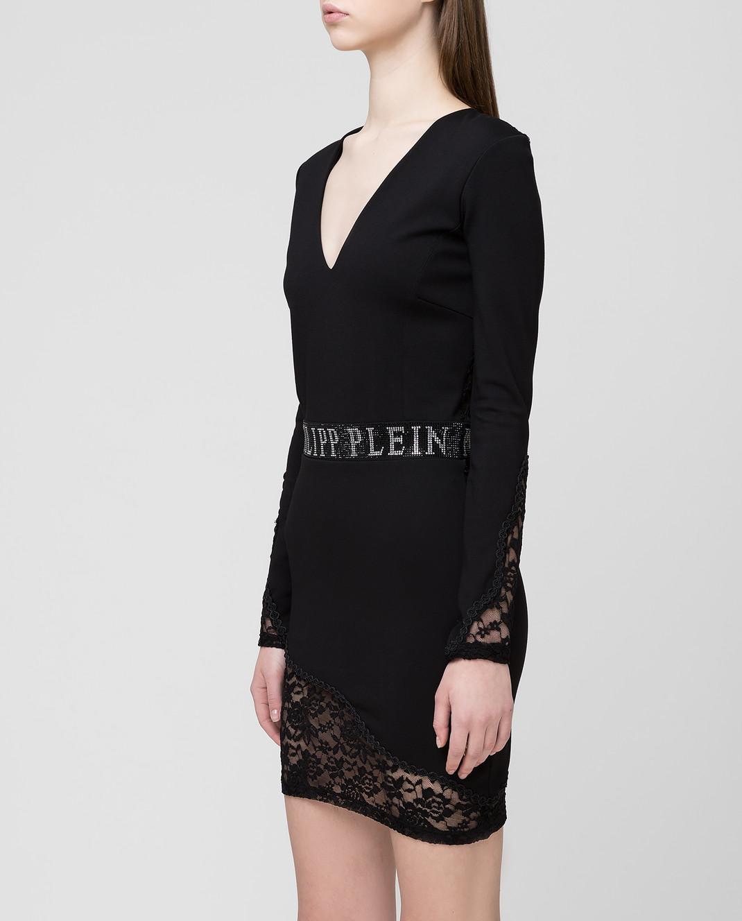 Philipp Plein Черное платье WRG0828 изображение 3