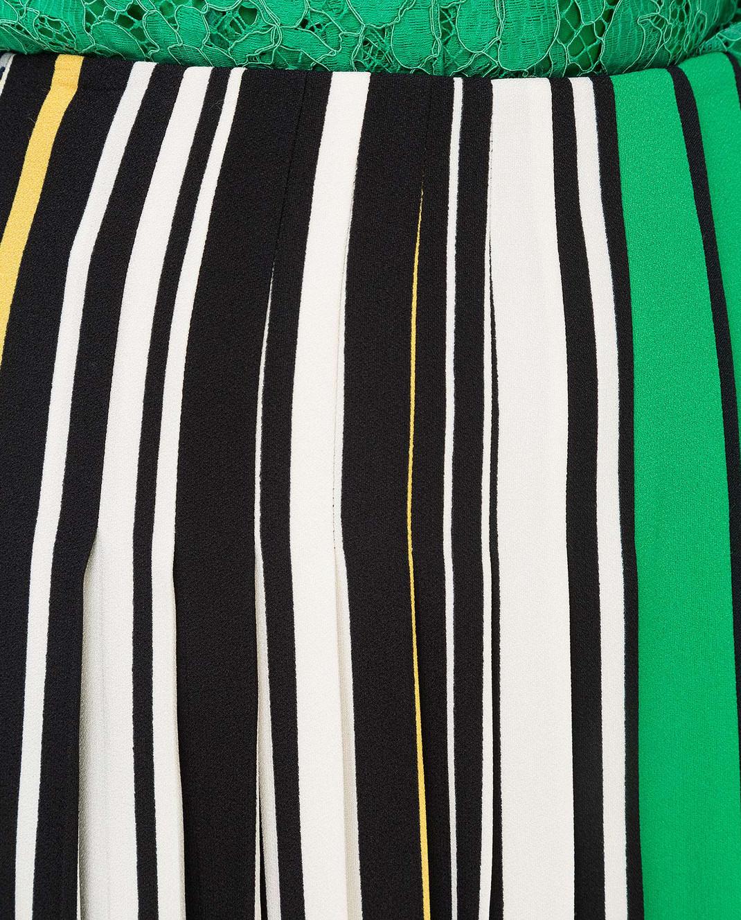 Prada Серая юбка P100H изображение 5