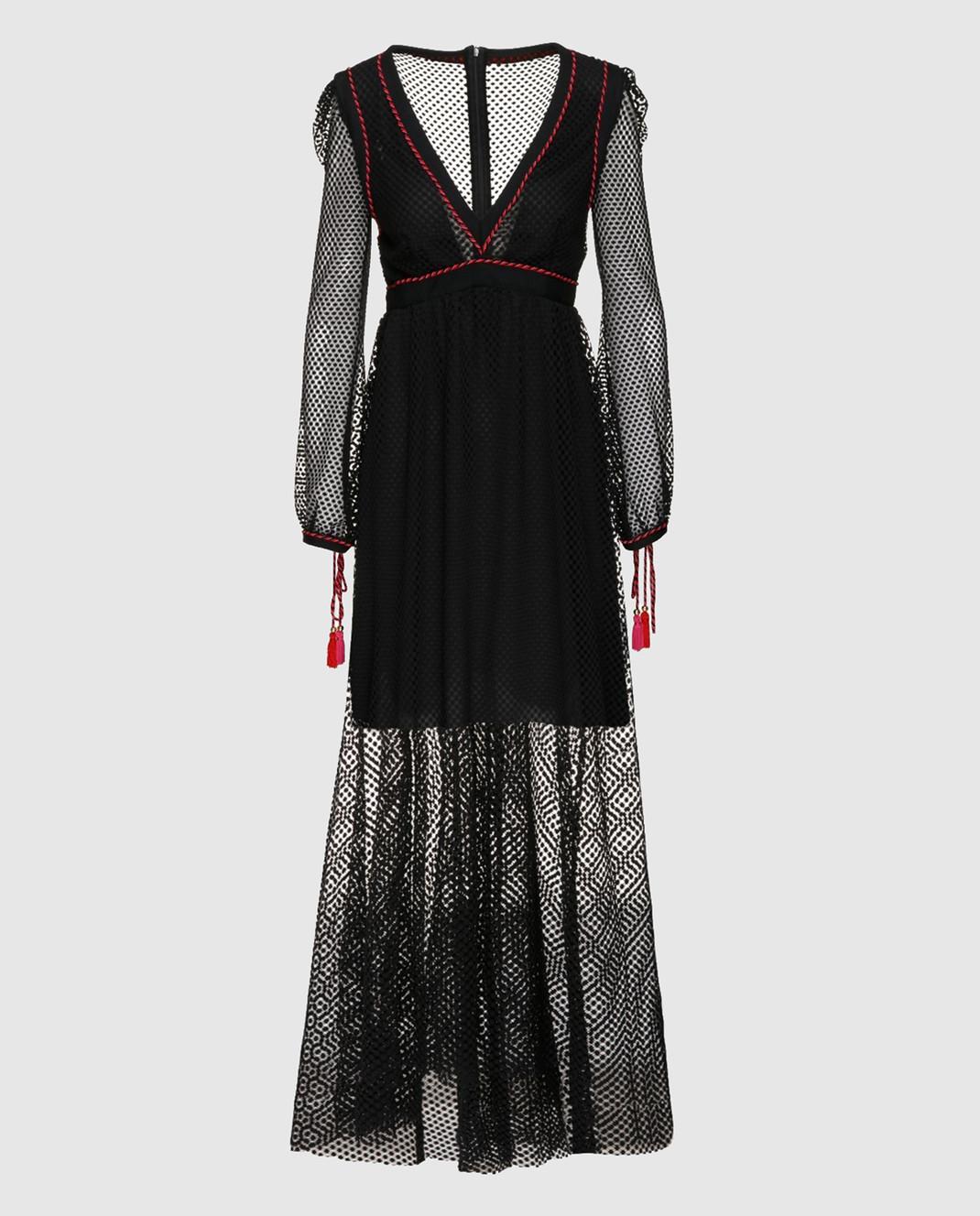 Philosophy di Lorenzo Serafini Черное платье A0441